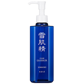 Sekkisei Clear Cleaning Oil | Kose Sekkisei | b-glowing
