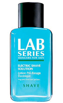 Electric Shave Solution | Lab Series | b-glowing
