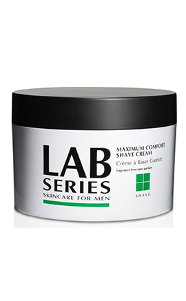 Maximum Comfort Shave Cream Jar | Lab Series | b-glowing