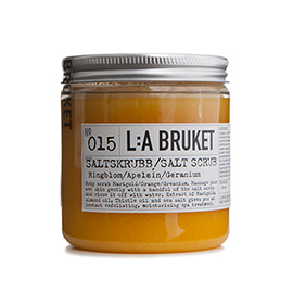 No.15 Salt Scrub Marigold/Orange/Geranium | L:A Bruket | b-glowing