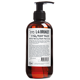 No.107 Body Wash Dark Vanilla | L:A Bruket | b-glowing