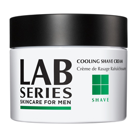 Cooling Shaving Cream Jar | Lab Series | b-glowing