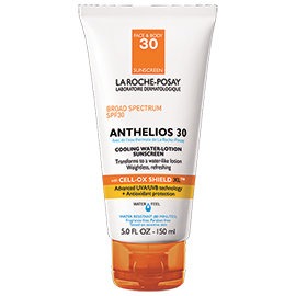 Anthelios SPF30 Cooling Water Lotion Sunscreen | La Roche-Posay | b-glowing