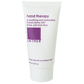 hand therapy | LATHER | b-glowing