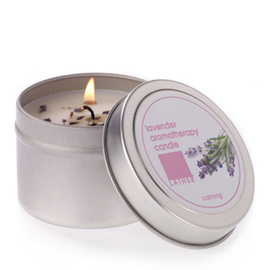 Lavender Aromatherapy Candle | LATHER | b-glowing
