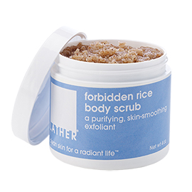 Forbidden Rice Body Scrub | LATHER | b-glowing