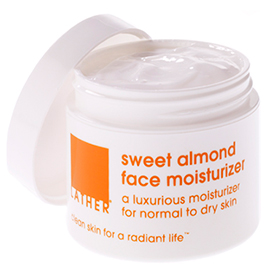 sweet almond facial moisturizer
