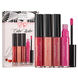 Color Luster Lip Gloss Set | Laura Geller Beauty | b-glowing