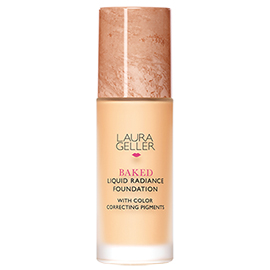 Baked Liquid Radiance Foundation | Laura Geller New York | b-glowing