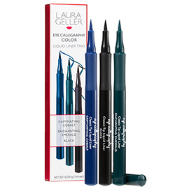 Eye Calligraphy Color Liquid Liner Trio