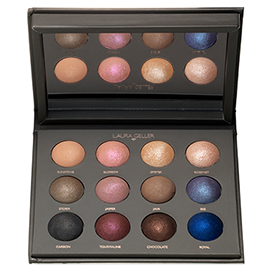 The Wearables 12 Well Eyeshadow Palette | Laura Geller New York | b-glowing