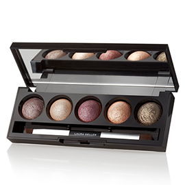 The Wearables Baked Eyeshadow Palette | Laura Geller New York | b-glowing