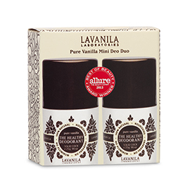 Pure Vanilla Mini Deo Duo | LaVanila | b-glowing