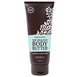 The Healthy Body Butter Fragrance Free | LaVanila | b-glowing