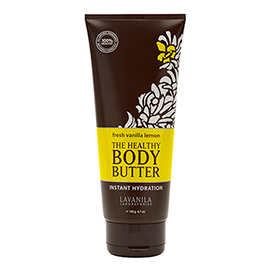 The Healthy Body Butter Fresh Vanilla Lemon