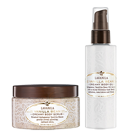 The Vanilla Bean Radiant Skin Set | LaVanila | b-glowing