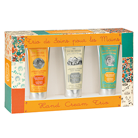 Flower Bouquet Hand Cream Trio | Le Couvent des Minimes | b-glowing