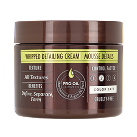 Whipped Detailing Cream | Macadamia Professional | b-glowing