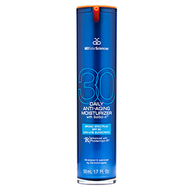 Daily Anti-Aging Moisturizer Broad Spectrum SPF 30 UVA-UVB Sunscreen | MDSolarSciences | b-glowing