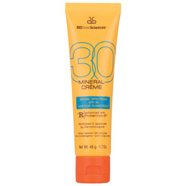 Mineral Crème Broad Spectrum SPF 30 UVA-UVB Sunscreen | MDSolarSciences | b-glowing