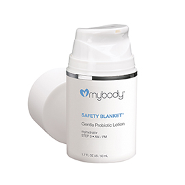 SAFETY BLANKET Gentle Probiotic Lotion | mybody | b-glowing