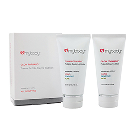 GLOW FORWARD Thermal Probiotic Enzyme Treatment Mask | mybody | b-glowing