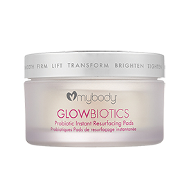 GLOWBIOTICS Probiotic Instant Resurfacing Pads | mybody | b-glowing