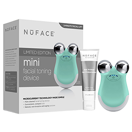 Limited Edition mini Facial Toning Device in Caribbean Sea | NuFACE | b-glowing