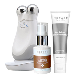 NuFACE Trinity Facial Trainer Kit + Collagen Booster | NuFACE | b-glowing