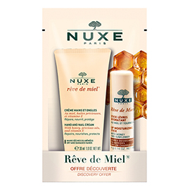 Rêve de Miel® Lip Moisturizing Stick + Hand Cream Duo | Nuxe | b-glowing