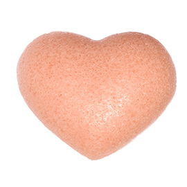 Rose Clay Cleansing Sponge | One Love Organics | b-glowing