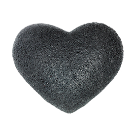 Bamboo Charcoal Cleansing Sponge | One Love Organics | b-glowing