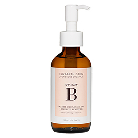 Vitamin B  Enzyme Cleansing Oil + Makeup Remover | One Love Organics | b-glowing