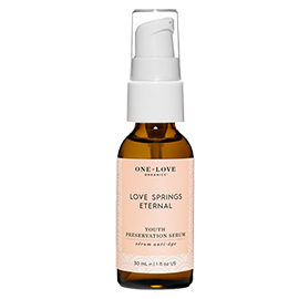 Love Springs Eternal Youth Serum | One Love Organics | b-glowing