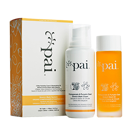 Pomegranate & Pumpkin Seed Stretch Mark System | Pai Skincare | b-glowing