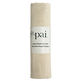 Organic Muslin Face Cloth | Pai Skincare | b-glowing
