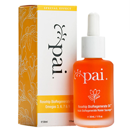 Rosehip BioRegenerate Oil | Pai Skincare | b-glowing
