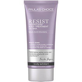RESIST Weightless Body Treatment with 2% BHA | Paula's Choice | b-glowing