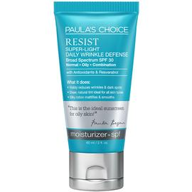 RESIST Super-Light Wrinkle Defense SPF 30 | Paula's Choice | b-glowing
