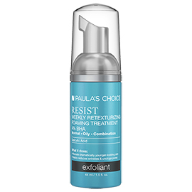 RESIST Weekly Retexturizing Foaming Treatment 4% BHA | Paula's Choice | b-glowing
