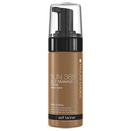 SUN 365 Self-Tanning Foam | Paula's Choice | b-glowing