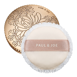 Pressed Face Powder Case + Puff | Paul & Joe Beaute | b-glowing