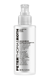 AHA/BHA Acne Clearing Gel 3.4oz | Peter Thomas Roth | b-glowing