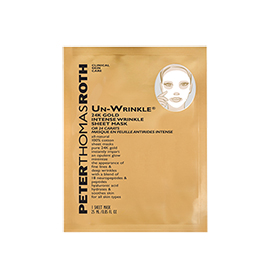 Un-Wrinkle 24k Gold Intense Sheet Mask | Peter Thomas Roth | b-glowing