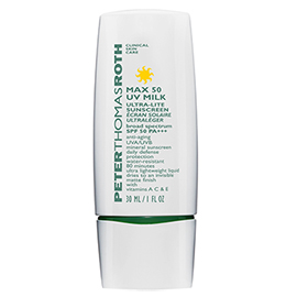Max UV Milk SPF 50 | Peter Thomas Roth | b-glowing
