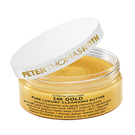 24K Gold Pure Luxury Cleansing Butter | Peter Thomas Roth | b-glowing