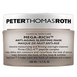 Mega-Rich Anti-Aging Sleeping Mask | Peter Thomas Roth | b-glowing