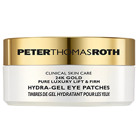 24K Gold Pure Luxury Lift & Firm Hydra-Gel Eye Patches | Peter Thomas Roth | b-glowing