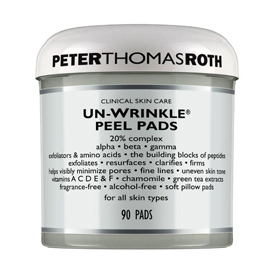 Un-Wrinkle Peel Pads | Peter Thomas Roth | b-glowing