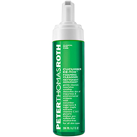 Cucumber De-Tox Foaming Cleanser | Peter Thomas Roth | b-glowing